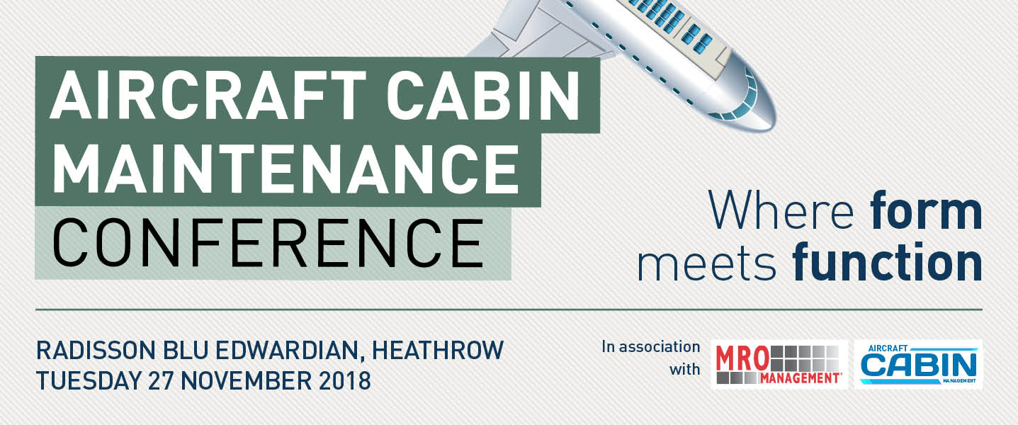 Aircraft Cabin Maintenance Conference Where Form Meets