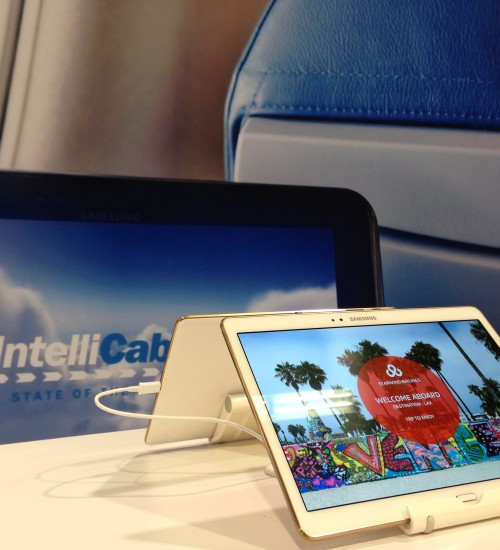 IntellliCabin offers an state-of-the-art in-flight entertainment system that utilises the best of today's tablet technology