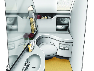 Factorydesign Business Class Lavatory Concept