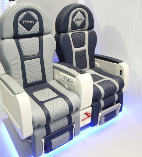STAG Group refurbished business class seat